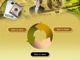Lady Financier PowerPoint Template#9