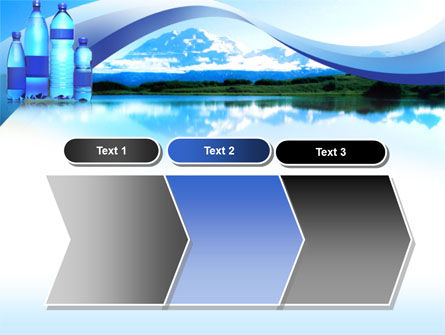 Bottled Mineral Water PowerPoint Template Slide 16