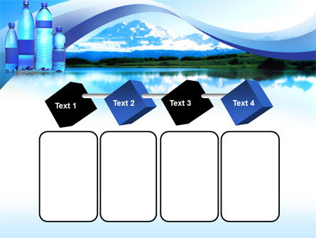 Bottled Mineral Water PowerPoint Template Slide 18