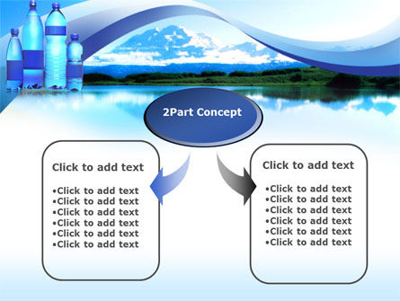 Bottled Mineral Water PowerPoint Template Slide 4