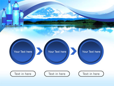 Bottled Mineral Water PowerPoint Template Slide 5