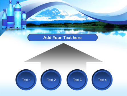 Bottled Mineral Water PowerPoint Template Slide 8