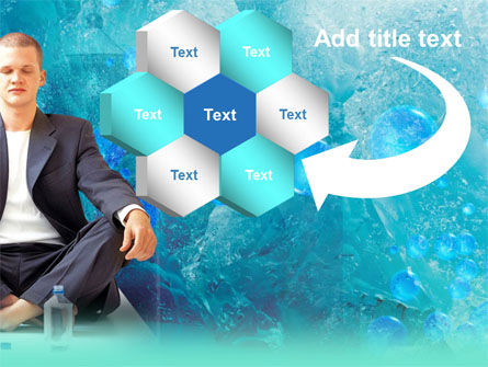 Pure Mineral Water PowerPoint Template Slide 11