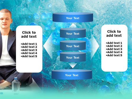 Pure Mineral Water PowerPoint Template Slide 13