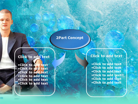 Pure Mineral Water PowerPoint Template, Slide 4, 00379, Food & Beverage — PoweredTemplate.com