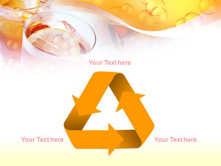 Citrus Juices PowerPoint Template Slide 10