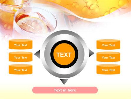 Citrus Juices PowerPoint Template Slide 12