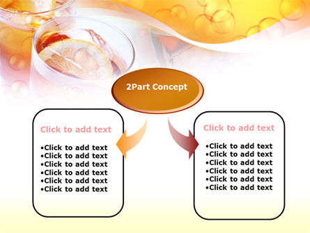 Citrus Juices PowerPoint Template, Slide 4, 00380, Food & Beverage — PoweredTemplate.com