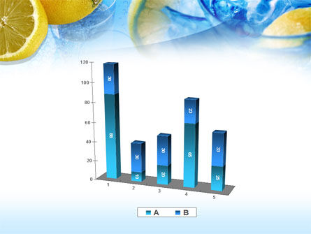 Mineral Water with Lemon PowerPoint Template Slide 17