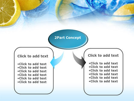 Mineral Water with Lemon PowerPoint Template Slide 4