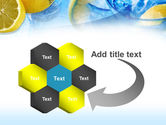 Mineral Water with Lemon PowerPoint Template#11