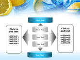 Mineral Water with Lemon PowerPoint Template#13