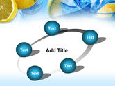Mineral Water with Lemon PowerPoint Template#14