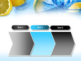 Mineral Water with Lemon PowerPoint Template#16