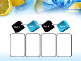 Mineral Water with Lemon PowerPoint Template#18