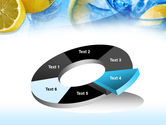 Mineral Water with Lemon PowerPoint Template#19