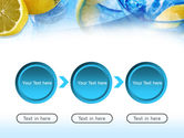 Mineral Water with Lemon PowerPoint Template#5