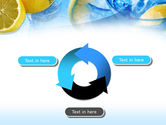 Mineral Water with Lemon PowerPoint Template#9