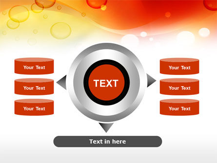 Orange PowerPoint Template Slide 12
