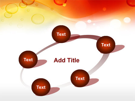 Orange PowerPoint Template Slide 14