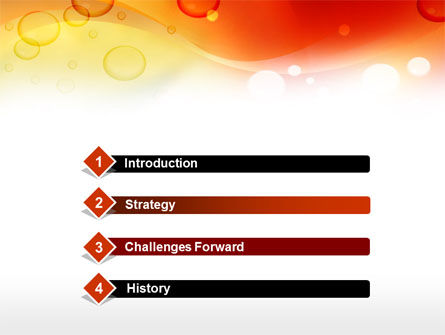 Orange PowerPoint Template Slide 3