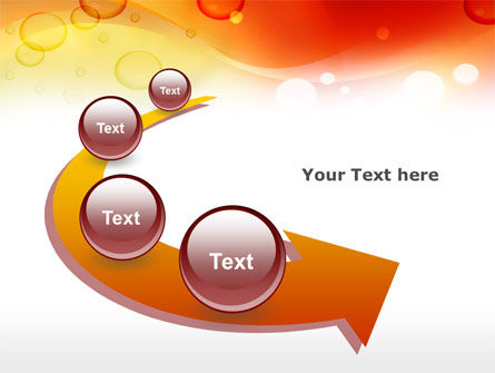 Orange PowerPoint Template Slide 6