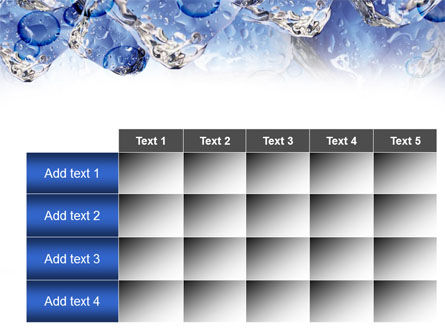 Ice On Rocks PowerPoint Template Slide 15