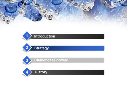 Ice On Rocks PowerPoint Template, Slide 3, 00383, Food & Beverage — PoweredTemplate.com