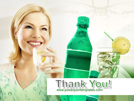 Free Cold Beverages PowerPoint Template Slide 20