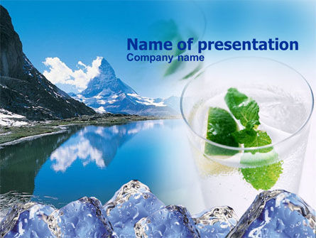 Mountain Fresh PowerPoint Template