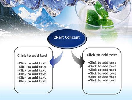 Mountain Fresh PowerPoint Template, Slide 4, 00385, Nature & Environment — PoweredTemplate.com