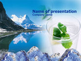 Nature & Environment: Mountain Fresh PowerPoint Template #00385