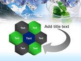 Mountain Fresh PowerPoint Template#11