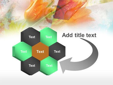 Tender Tulips PowerPoint Template Slide 11