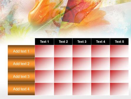 Tender Tulips PowerPoint Template Slide 15