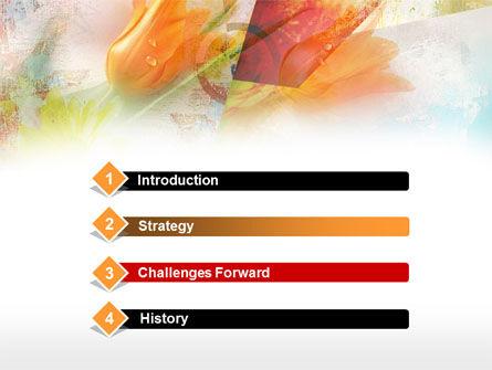 Tender Tulips PowerPoint Template, Slide 3, 00387, Art & Entertainment — PoweredTemplate.com