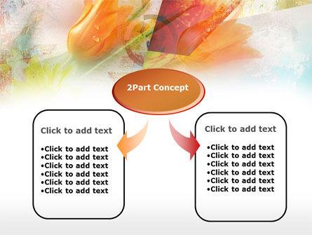 Tender Tulips PowerPoint Template, Slide 4, 00387, Art & Entertainment — PoweredTemplate.com