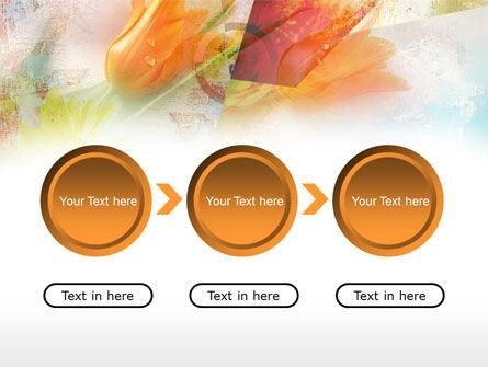 Tender Tulips PowerPoint Template Slide 5