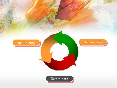 Tender Tulips PowerPoint Template Slide 9