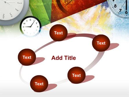 Time In A Modern Art PowerPoint Template Slide 14