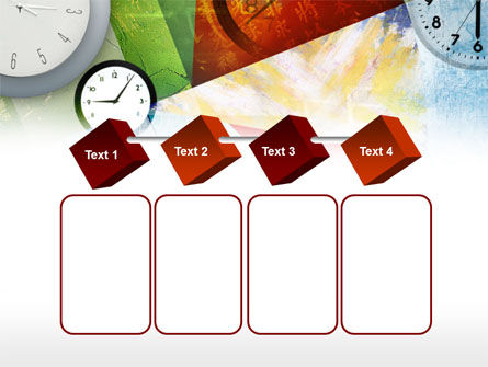 Time In A Modern Art PowerPoint Template Slide 18