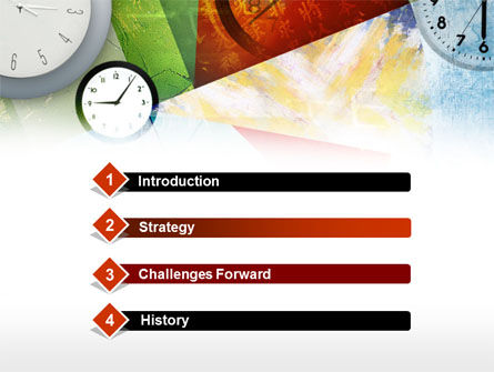 Time in a modern art powerpoint template backgrounds 00388 time in a modern art powerpoint template slide 3 00388 business concepts toneelgroepblik Image collections