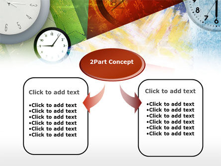 Time In A Modern Art PowerPoint Template Slide 4