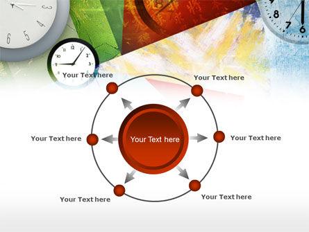 Time In A Modern Art PowerPoint Template Slide 7