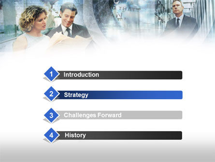 Lady In Business PowerPoint Template Slide 3