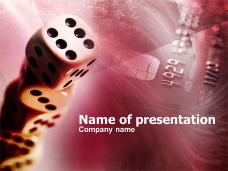 Gambling Online PowerPoint Template