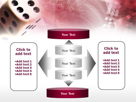 Gambling Online PowerPoint Template Slide 13