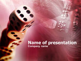 Art & Entertainment: Modello PowerPoint - Il gioco d'azzardo on-line #00398