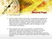 Stop Watch PowerPoint Template#2