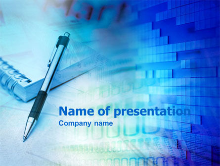 Notes PowerPoint Template, 00404, Business — PoweredTemplate.com